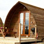 Outside the Eco pods